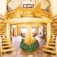 Alluring log décor