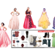 Exquisite in fairy-tale ball gowns