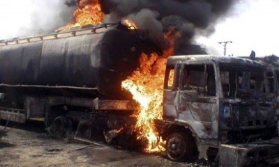 6 dead after petrol lorry sets alight homes in Vietnam