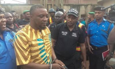 PHOTOS: Lagos Police Arrest Badoo Cult Leader, Chief Herbalist