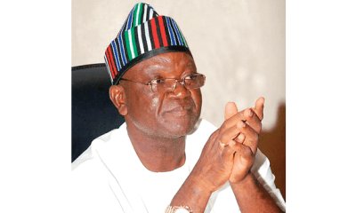 2019: PDP will win presidential election – Gov. Ortom