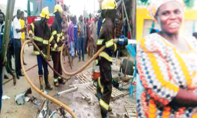 Lagos gas explosions: Woman dies helping neighbour