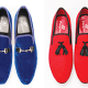 Velvet loafers: The luxury heritage-inspired style
