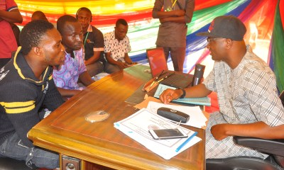 Agege LG Chairman operates from street (PHOTO)