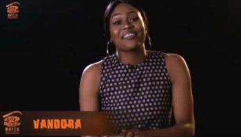 BB Naija: Vandora's nipple slip that has got all the guys drooling