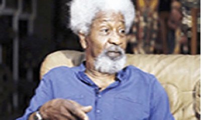 Soyinka: Nigerians must resist descent to dictatorship
