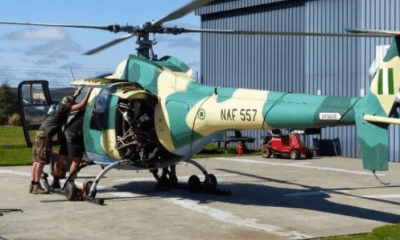 NAF Commissions healthcare facilities in Abuja