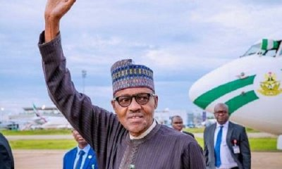 Buhari jets out to France for peace forum