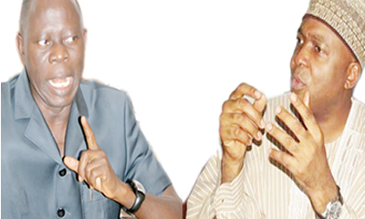 JUST IN: Oshiomhole threatens to sue Saraki