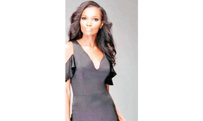 Excitement as Agbani Darego gives birth to first child