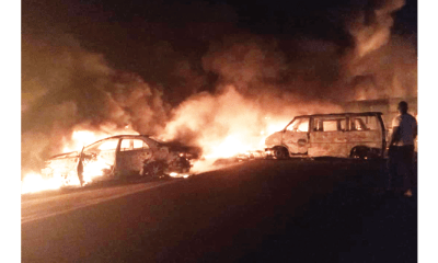 30 lives lost in road mishap