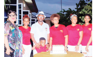 Justice Okorie clocks 60, gets surprise birthday bash