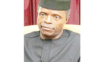 Osinbajo: Why I missed Wole Soyinka Award ceremony