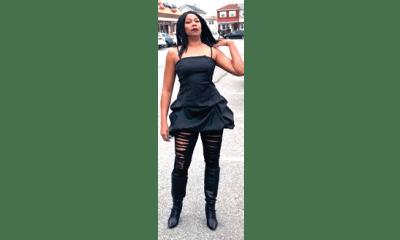 Regina Askia, ageless in all-black ensemble