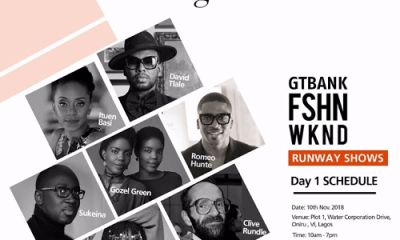 Day 1: The GTBank Fashion Weekend, Meet the Runway Designers