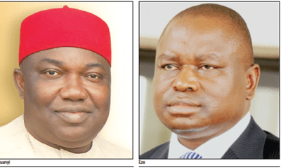 Enugu: Ugwuanyi, Eze in renewed battle