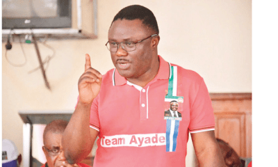 Ayade rejects workers employed by deputy