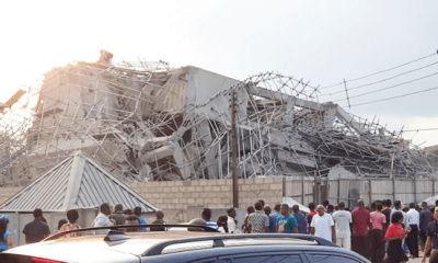 Collapsed 7-storey building: 31 persons rescued, 15 dead– NEMA Coordinator