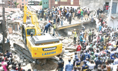 Itafaji: One building  collapse, too much troubles