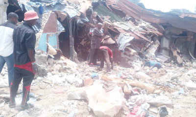 I escaped but my mum  was unlucky –Collapsed building survivor