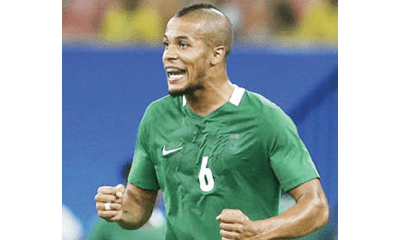 Troost-Ekong leads charge against tropical diseases