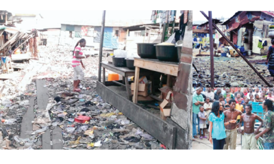 Ajegunle, 'where riches dwell' yet residents live in squalor