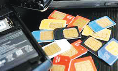 Inactive GSM lines rise to 85.4m
