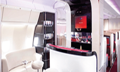 First class travel booms in Nigeria amid global decline