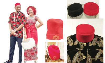 Royalty personified Igbo red cap