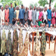 Kidnapping: 93 arrested with rocket launcher, 45 AK47 rifles