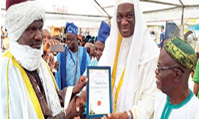 Sheik Aduralongba turbaned as first Mufti of Bode Olude