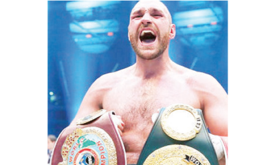Fury wants Wilder rematch after stopping Schwarz