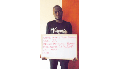 Internet fraudster forfeits N230m to FG