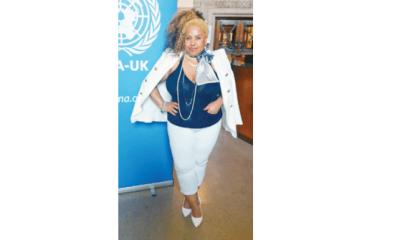 Miss-K attends U.N 'Kofi Annan Celebration of Life' event