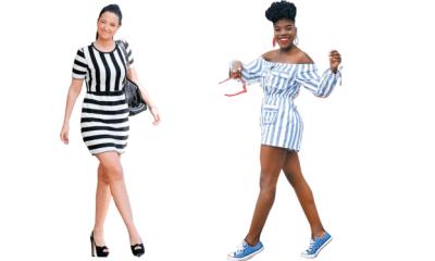 Strike a pose in stripe