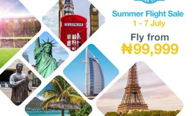 Travelstart Launches Third Annual Summer Flight Sale Promo