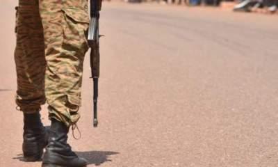 Militants kill 10 Burkina Faso soldiers