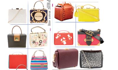 Elegant oozing box bags