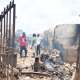 Traders count losses as fire guts auto parts market