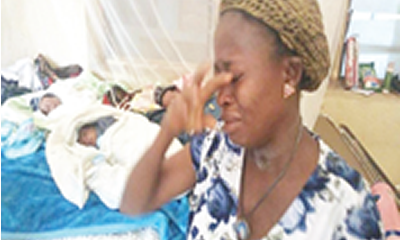 New Telegraph's report: Umahi gives homeless triplets' mother lifeline