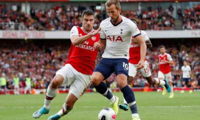 EPL: Arsenal come from behind to hold Spurs, Everton edge Wolves