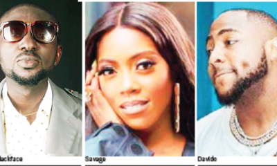 Blackface lashes at Tiwa Savage, Davido over flimsy lyrics