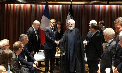 Macron: Time for Iran to take steps to defuse tensions