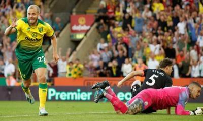 EPL: Norwich stun Man City 3-2