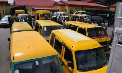 Lagos to auction 53 vehicles arrested for driving against traffic