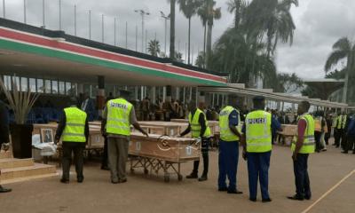 Remains of Ethiopian Airlines crash victims arrive Kenya