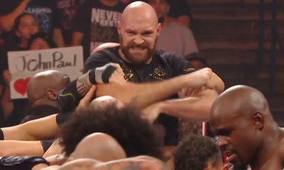 Fury v Strowman: Heavyweight boxer clashes with WWE star
