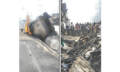 Pregnant woman, baby, 13 others die in tanker explosion