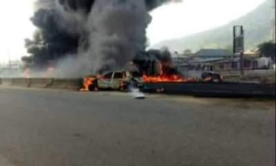 JUST IN: Tanker explosion kills 5 in Kogi