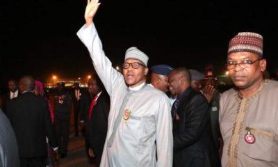 Buhari returns ahead of original date